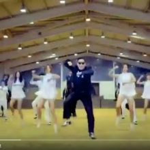 Gangnam style video capture