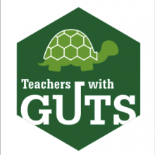 GUTS turtle logo