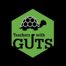 Teachers with GUTS logo (turtle)